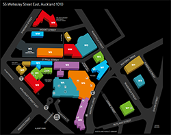 AUT city campus map