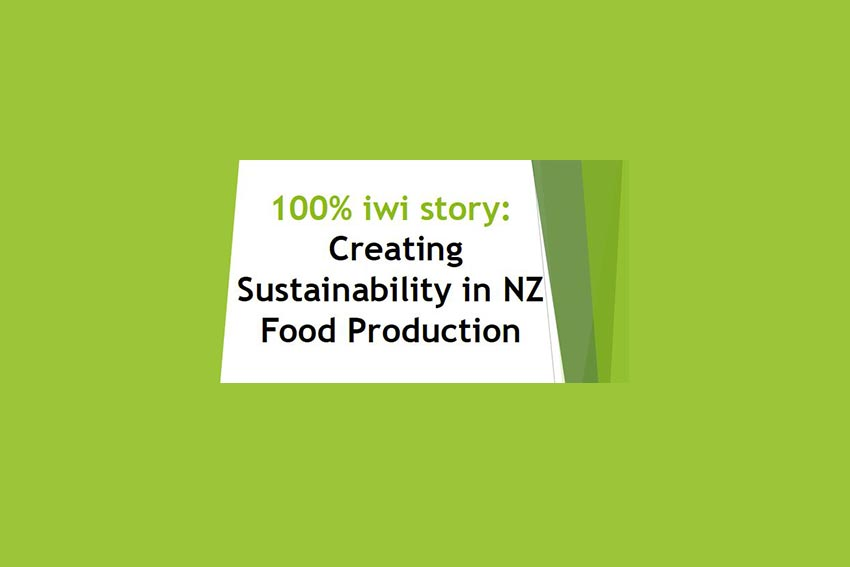 Creating Sustainability in NZ Food Production