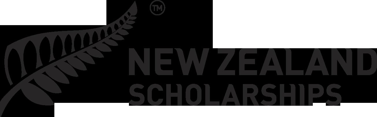 NZ Scholarships Logo BLK HOR