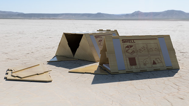 Shell Shelters - an AUT student's project