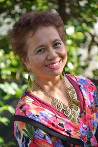 Director of Diversity, Edwina Pio
