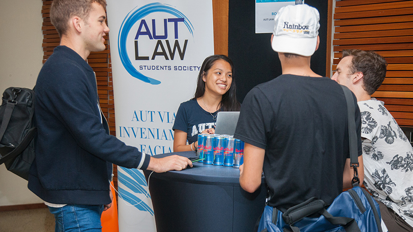 The AUT Law Students' Society includes free membership to ADLS and AMINZ