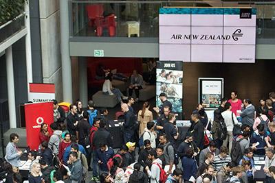 Careers fair Air NZ