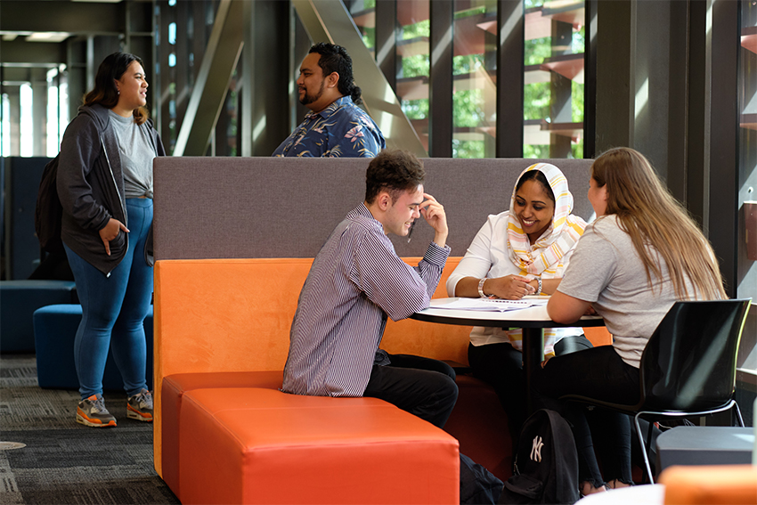 You'll find a bright, welcoming atmosphere at the South Campus in Manukau