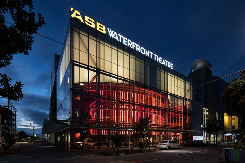 AUT actively supports the arts and is a foundation partner in the ASB Waterfront Theatre