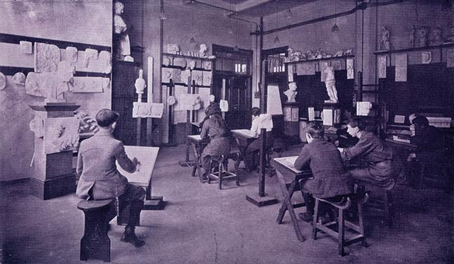 1918 — Art room