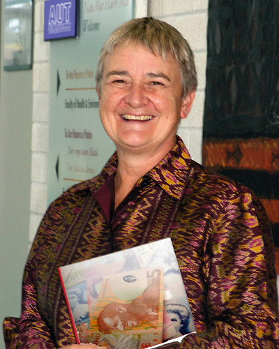 2006 — Political economist and former MP Dr Marilyn Waring is appointed to the University's Institute for Public Policy.