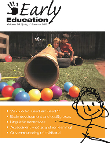 Early Education vol 64 cover