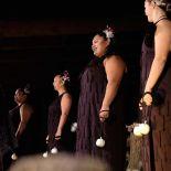 Poi performance at Mitai Maori Village, Rotorua