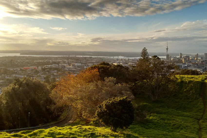 Visiting Auckland