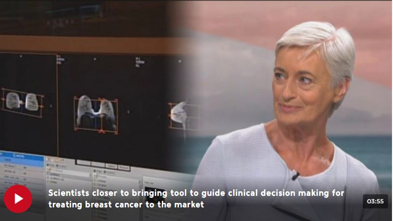 Survivor and Breast Cancer Cure trustee Fay Sowerby spoke to TVNZ1's Breakfast about findings published in the British Journal of Cancer.