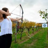 Archery at Wild on Waiheke Vineyard, Waiheke Island