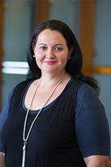 Photo of AUT's Professor of Management - Candice Harris