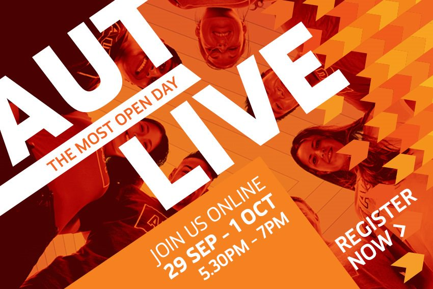 AUT Live online - our digital open day