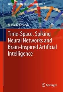 Cover of Kasabovs new AI Book