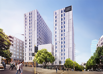 New student accommodation