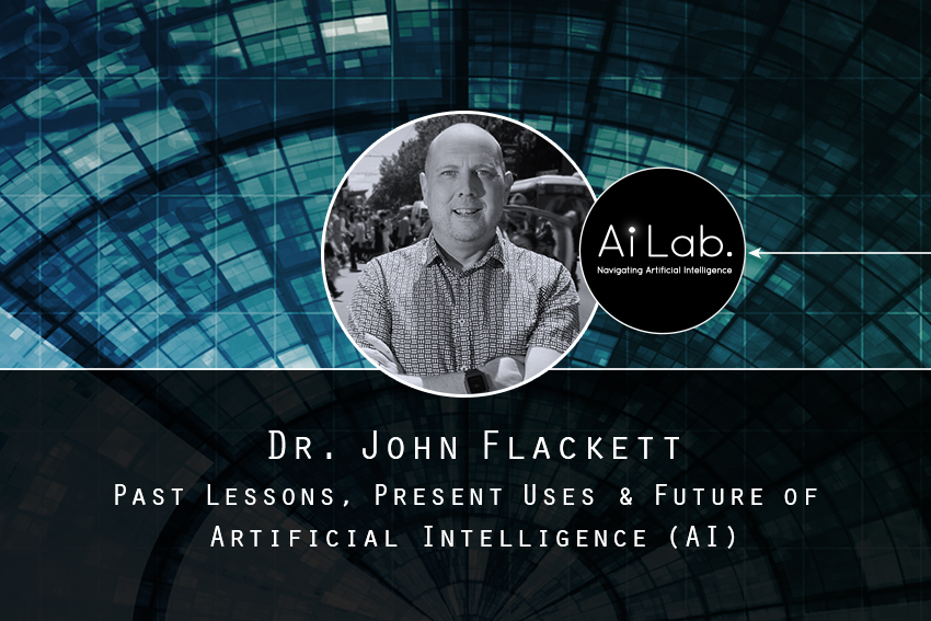 Dr. John Flackett's talk on artificial intelligence