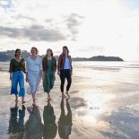 Walks along Onetangi Beach, Waiheke Island