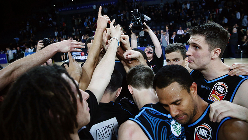 AUT is the official education partner of the NZ Breakers basketball team and the player sponsor of Jordan Ngatai