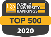 2018 - Top 500 - QS world university ranking accreditation logo