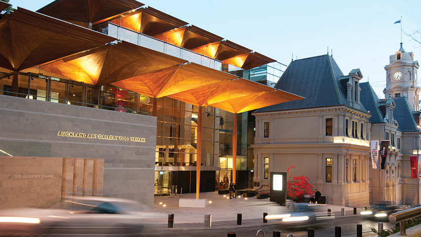 AUT is Auckland Art Gallery's university partner as well as the sponsor of the Pat Hanly Creativity Awards