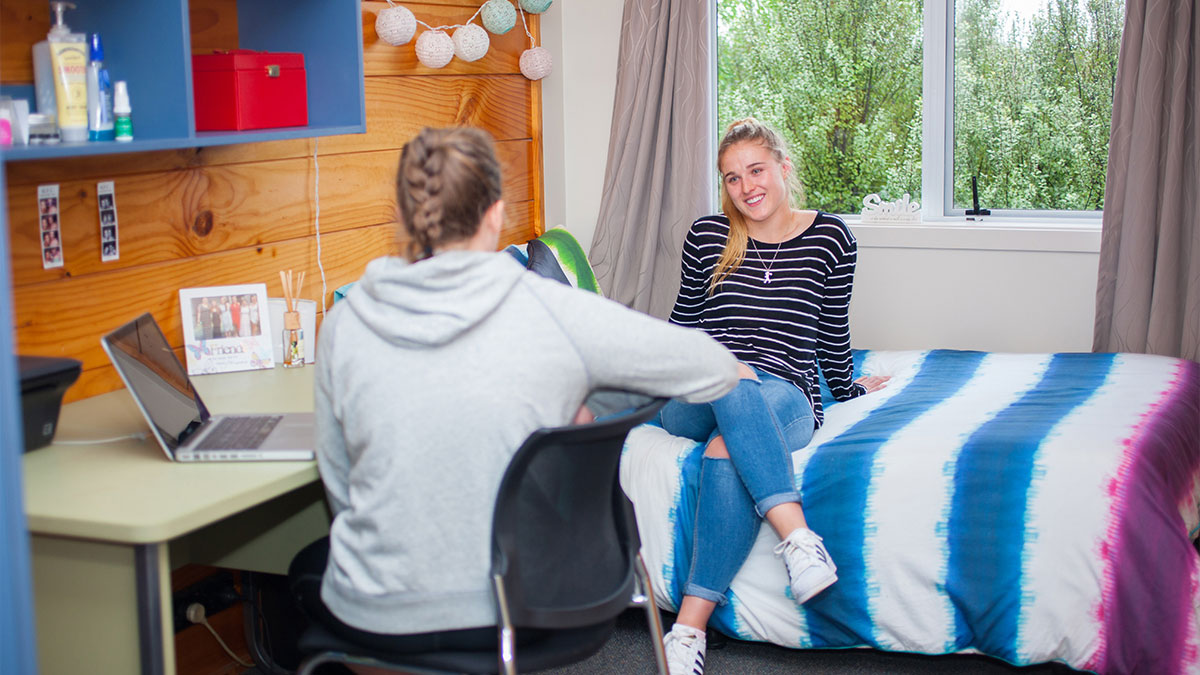 Students in AUT's accommodation