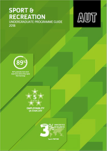 Sport & Recreation Undergraduate Programme Guide