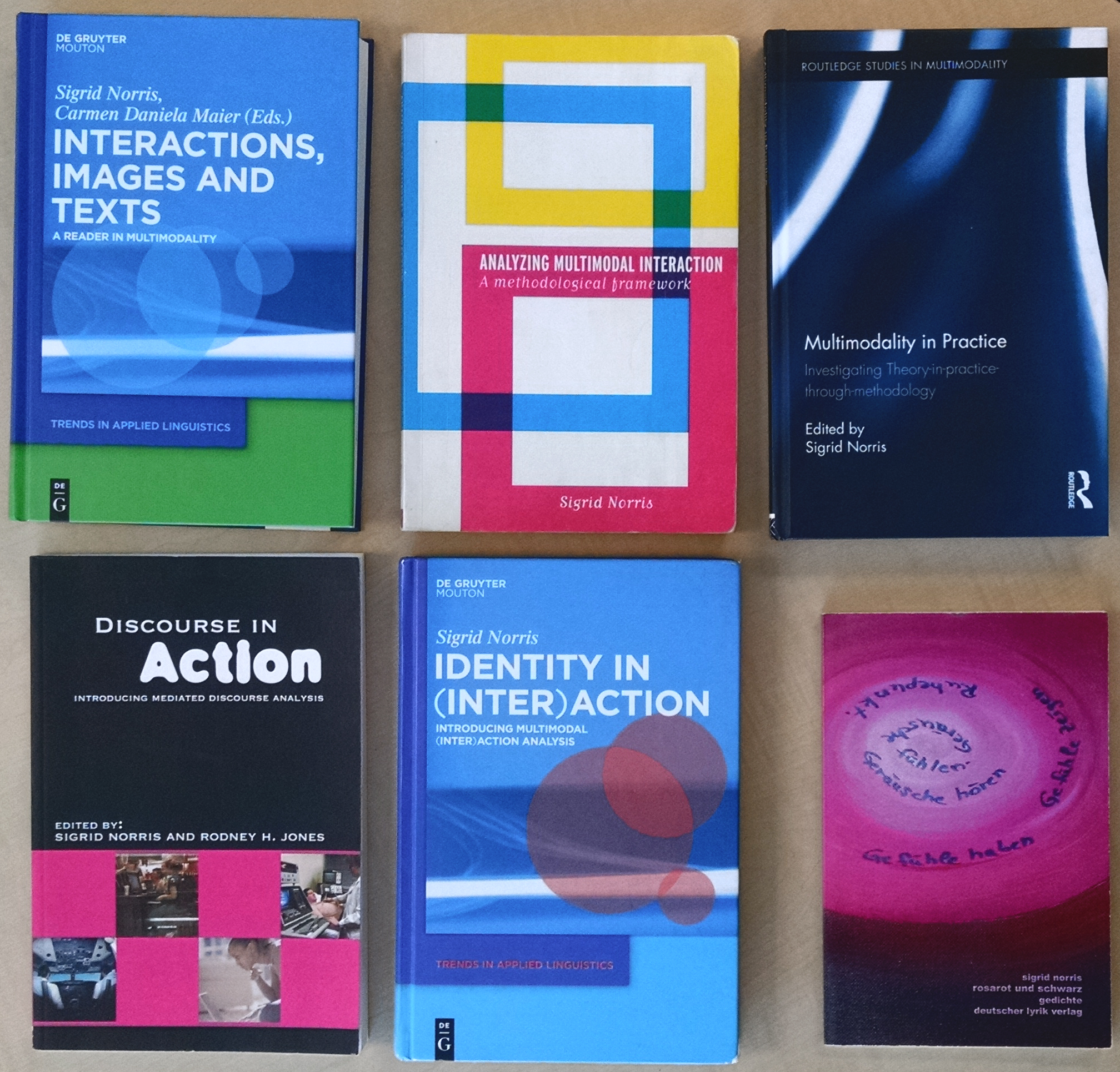 Multimodal Research Books
