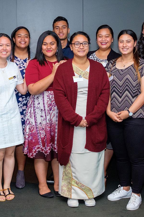 Photo of AUT Scholarship recipients