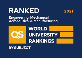 QS Subject 2019 Engineering-Mechanical-Aeronautical-Manufacturing Ranked
