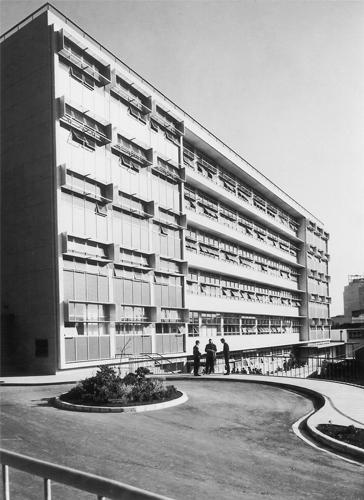 1965 — The new six-storey A Block