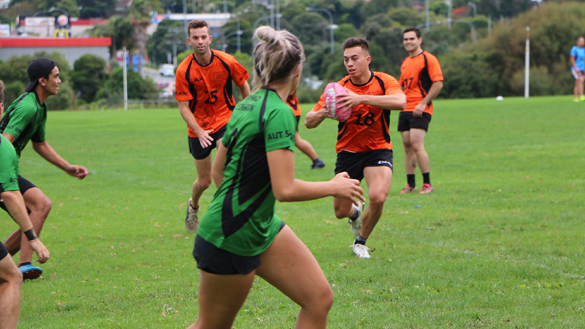 You can get involved with recreational sport, social leagues or residential sport at AUT