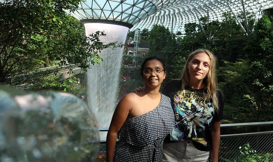 Shivani Mudaliar and Bree O'Leary