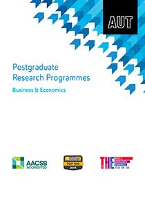 Business & Economics Postgraduate Research Programmes