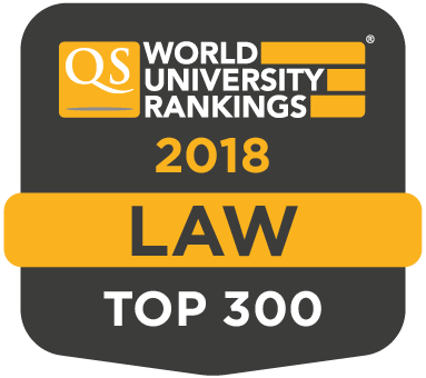 Law Top 300 QS Rankings