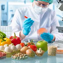 Food testing laboratory